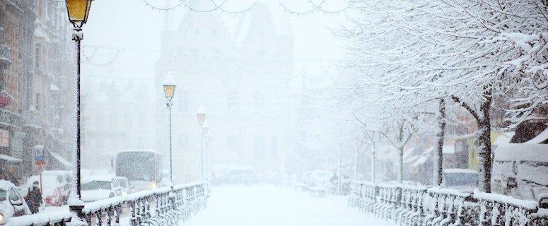 hvornår var det sidst hvid jul i Danmark